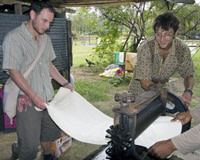 Cultural Activities - Natural Rubber Tapping