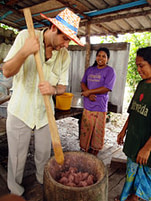 Cultural Activities - making shrimp paste