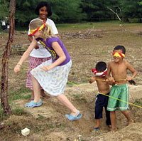 Cultural Activities - interactive games with children