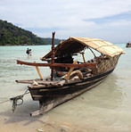 Traditional Moken Boat