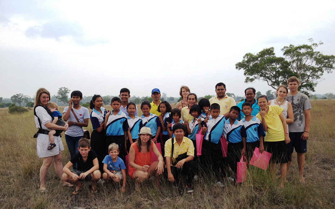 Youth guide training at Ta Pae Yoi School