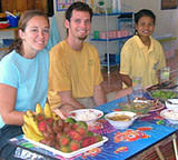 Southern Thailand Andaman tourism - shared meals